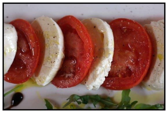 Caprese Salad in Montepulciano.
