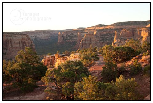 Colorado National Monument at Dawn