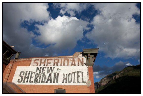 The New Sheridan Hotel in Telluride, Colorado