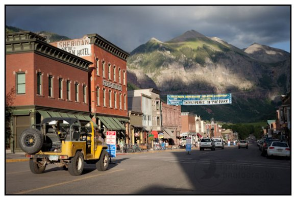Main Street in Telluride, Colorado