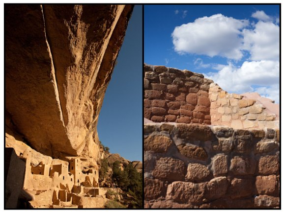 Cliff Palace and Sun Temple, Mesa Verde National Park, Colorado