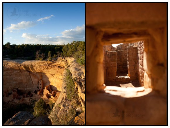 Square Tower House and Sun Temple, Mesa Verde National Park, Colorado
