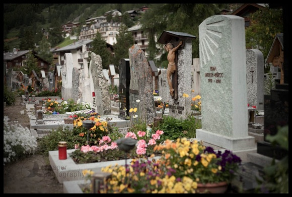 Cemetery, Zermatt, Switzerland