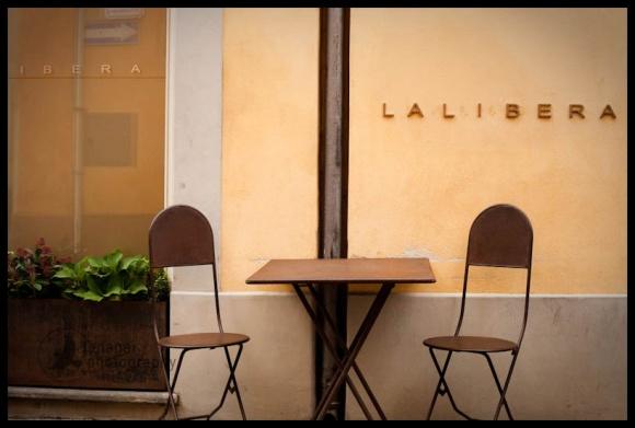 La Libera restaurant, Alba, Italy