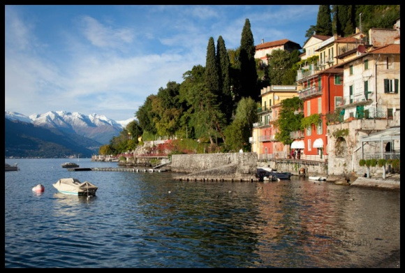 Varenna on Lake Como, Italy