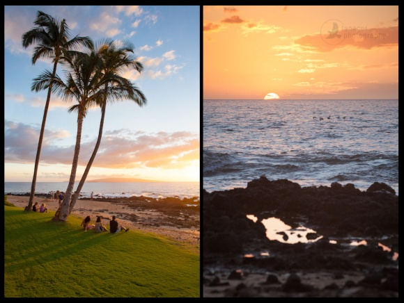 Sunset in Kihei, Maui, Hawaii