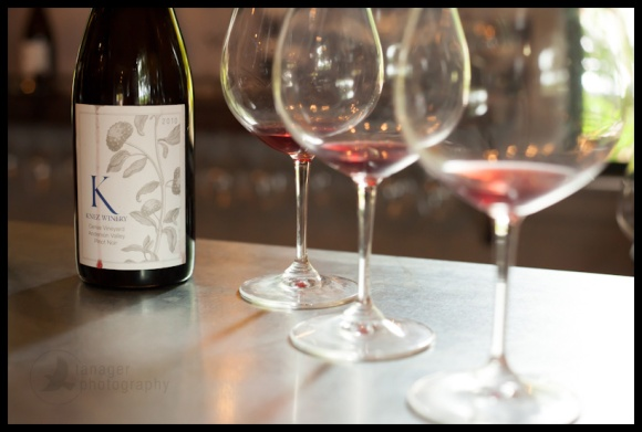 Knez Winery wine tasting, Boonville, CA